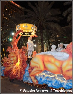 King Float of Krewe of Hermes