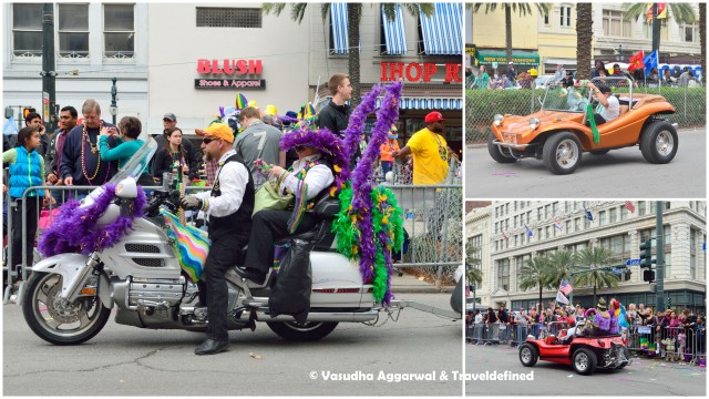 Interesting rides at Mardi Gras