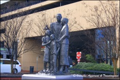 Statues at River Street