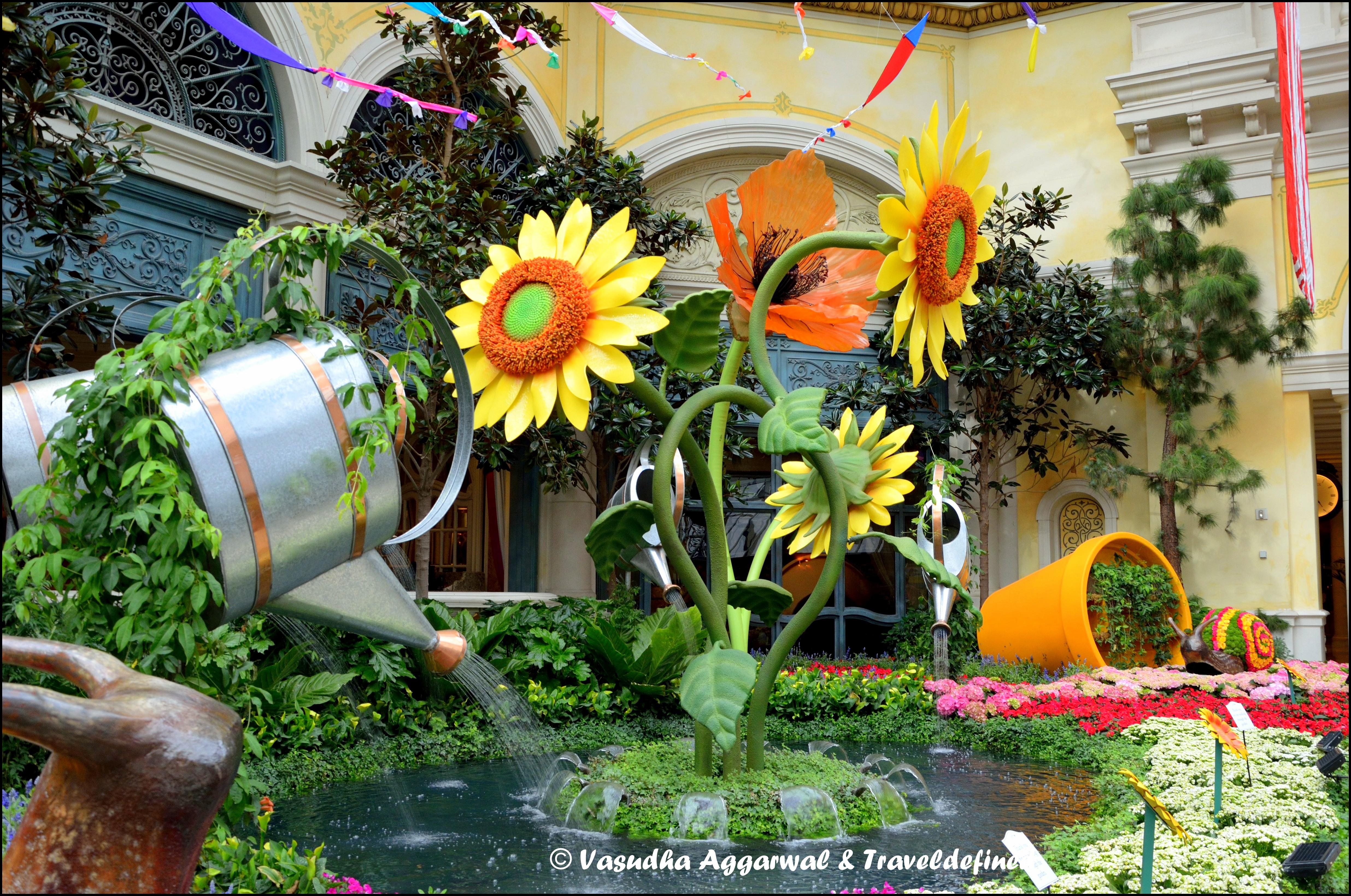 Las Vegas Bellagio Botanical Gardens Traveldefined