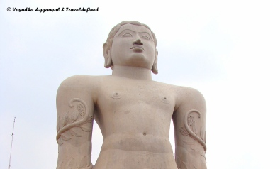 The towering 'Gommateshwara' Statue