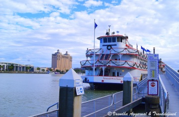 Cruise ship, Savannah River