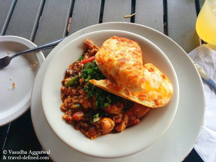 lunch jambalaya